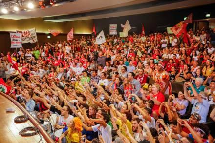 É com essa força que vamos eleger Dilma, garantir a Constituinte e as reformas exigidas pelo povo.