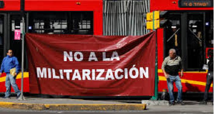 militarização méxico