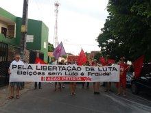 Caminhada no Bairro do Rodolfo Teófilo pela libertação do Lula e pela sua candidatura a presidente