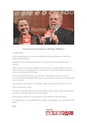 Carta de Lula a Gleisi DAP