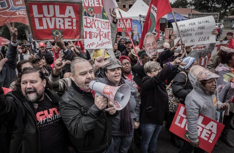Vagner Freitas visita Lula na PF em Curitiba